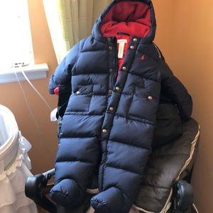 Infant snow suite